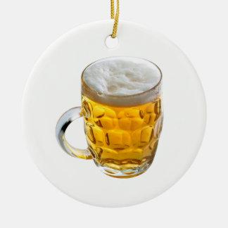 Ornamento De Cerâmica Cerveja