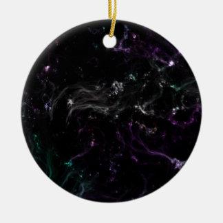 Ornamento De Cerâmica Céu da galáxia