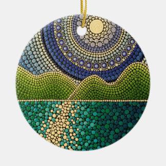 Ornamento De Cerâmica Céu majestoso