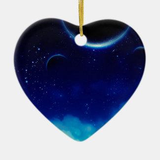 Ornamento De Cerâmica Céu nocturno estrelado