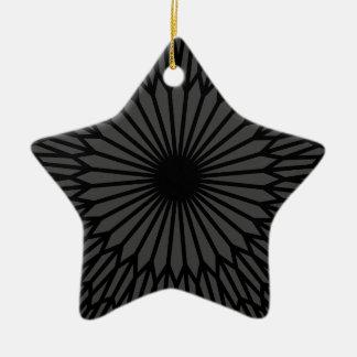 Ornamento De Cerâmica Chakra escuro