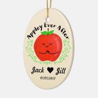 Ornamento De Cerâmica Chalaça positiva de Apple - Appley sempre em