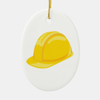Ornamento De Cerâmica Chapéu da construção