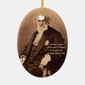 Ornamento De Cerâmica Charles Louis Ambroise Thomas