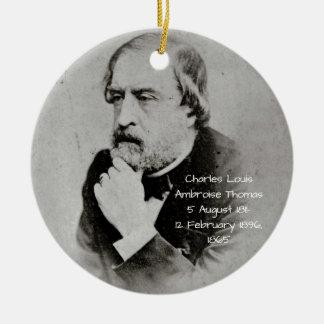 Ornamento De Cerâmica Charles Louis Ambroise Thomas 1865