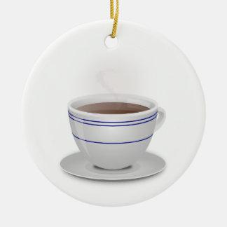 Ornamento De Cerâmica Chávena de café