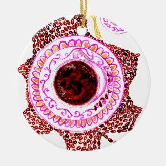 Ornamento De Cerâmica Chávena de café Art2