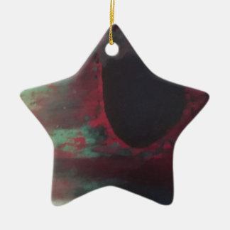 Ornamento De Cerâmica Cheio da cor em um mundo brilhante