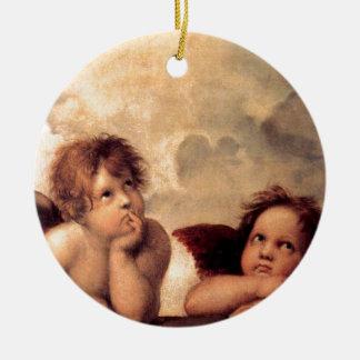 Ornamento De Cerâmica Cherubim - Raphael