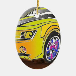 Ornamento De Cerâmica Chevy Camero