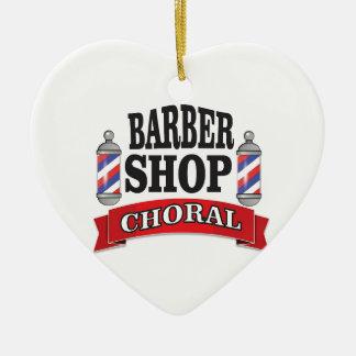 Ornamento De Cerâmica choral da barbearia