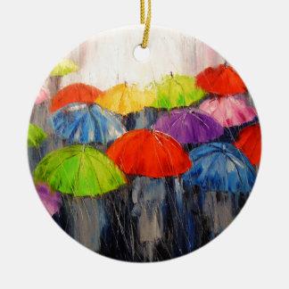 Ornamento De Cerâmica Chuva da manhã