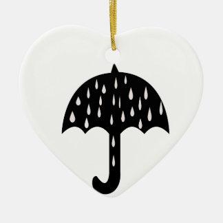 Ornamento De Cerâmica chuva do guarda-chuva