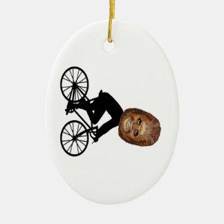 Ornamento De Cerâmica Ciclista legendário