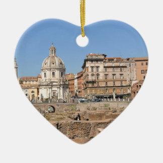 Ornamento De Cerâmica Cidade antiga de Roma, Italia