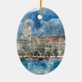 Ornamento De Cerâmica Cidade da separação em Croatia