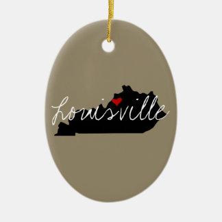 Ornamento De Cerâmica Cidade de Kentucky