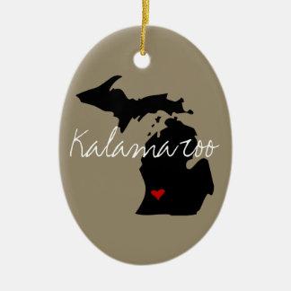 Ornamento De Cerâmica Cidade de Michigan