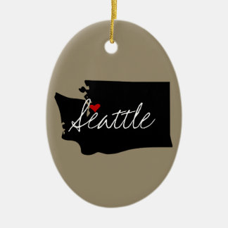 Ornamento De Cerâmica Cidade de Washington