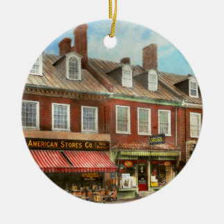 Ornamento De Cerâmica Cidade - DM de Easton - uma fatia da vida