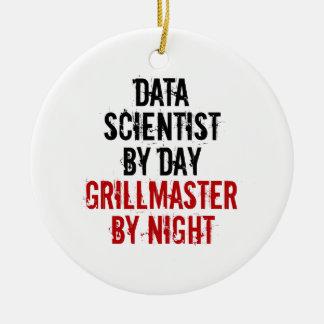 Ornamento De Cerâmica Cientista dos dados de Grillmaster