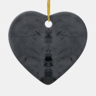 Ornamento De Cerâmica cinzas