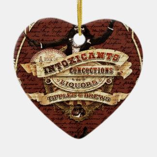 Ornamento De Cerâmica Circo do vintage