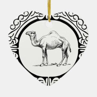 Ornamento De Cerâmica círculo do camelo
