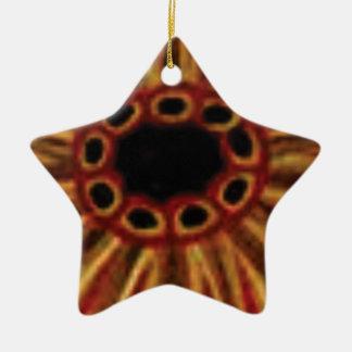Ornamento De Cerâmica círculos center do furo