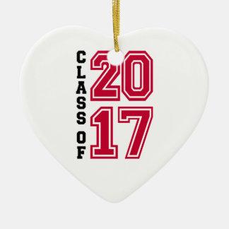 Ornamento De Cerâmica Classe de 2017