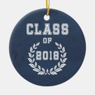 Ornamento De Cerâmica Classe de 2018
