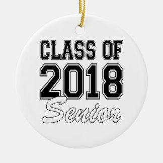 Ornamento De Cerâmica Classe dos mais velho 2018