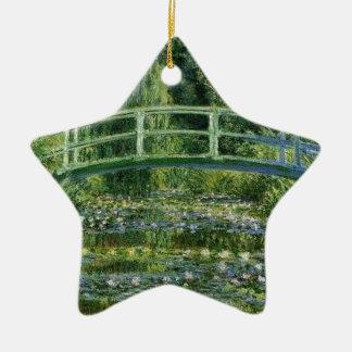 Ornamento De Cerâmica Claude Monet - ponte japonesa