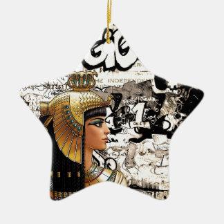 Ornamento De Cerâmica Cleopatra