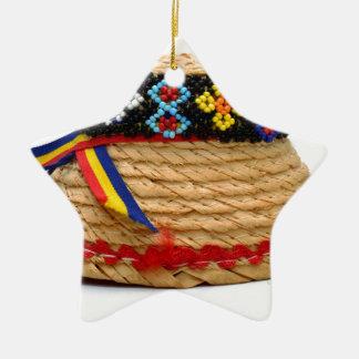 Ornamento De Cerâmica clop o chapéu tradicional