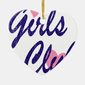 Ornamento De Cerâmica clube das meninas