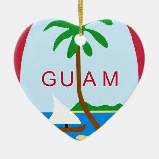 Ornamento De Cerâmica Coat_of_arms_of_Guam