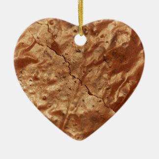 Ornamento De Cerâmica Cobrir do chocolate de um bolo