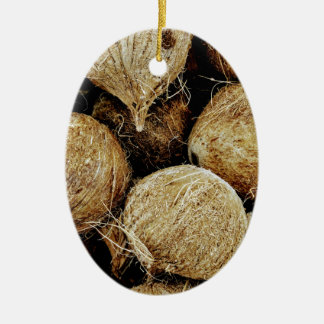 Ornamento De Cerâmica Cocos