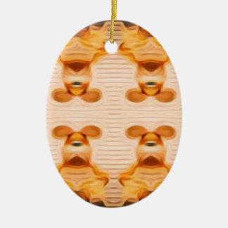 Ornamento De Cerâmica Coelhos Trippy