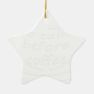 Ornamento De Cerâmica coffee23