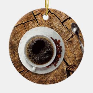 Ornamento De Cerâmica Coffeemania da chávena de café