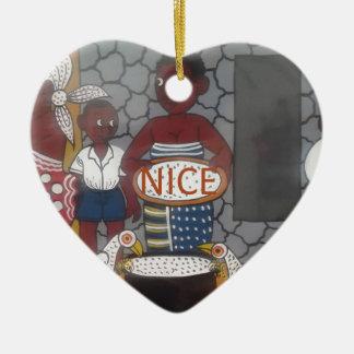 Ornamento De Cerâmica Col bonito agradável bonito da herdade tradicional