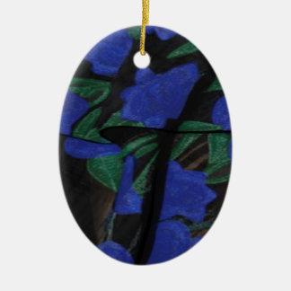 Ornamento De Cerâmica Coleção azul persa 2017 do desenhista