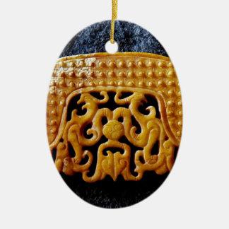 Ornamento De Cerâmica Coleção do jade, jade chinês arcaico
