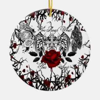 Ornamento De Cerâmica colha o que você semeia