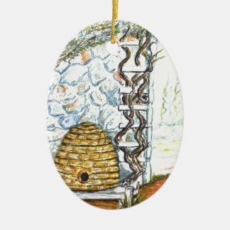Ornamento De Cerâmica colheita do rockwall