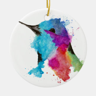Ornamento De Cerâmica colibri