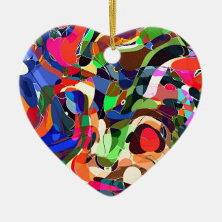 Ornamento De Cerâmica Colore o mashup