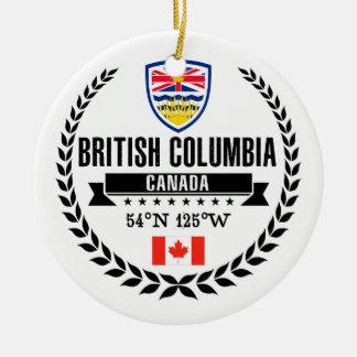Ornamento De Cerâmica Columbia Britânica